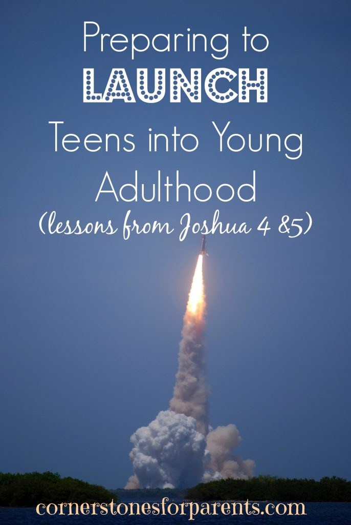 Preparing to launch teens into young adulthood - tips for Christian parents