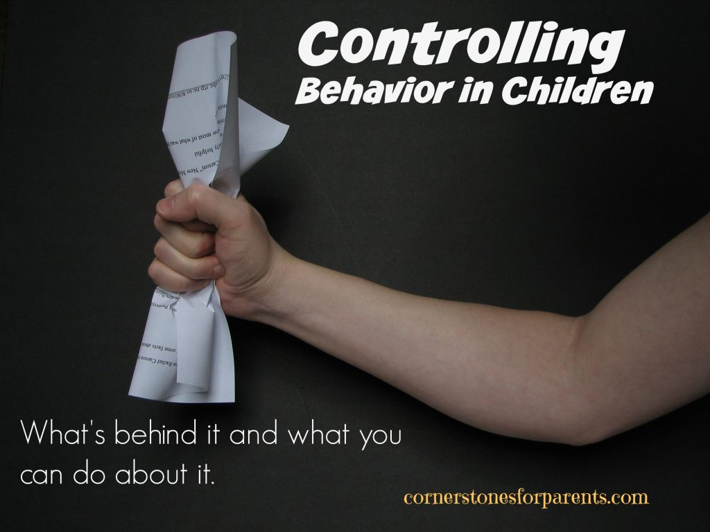 Controlling Behavior in Children