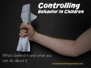Controlling Behavior in Children