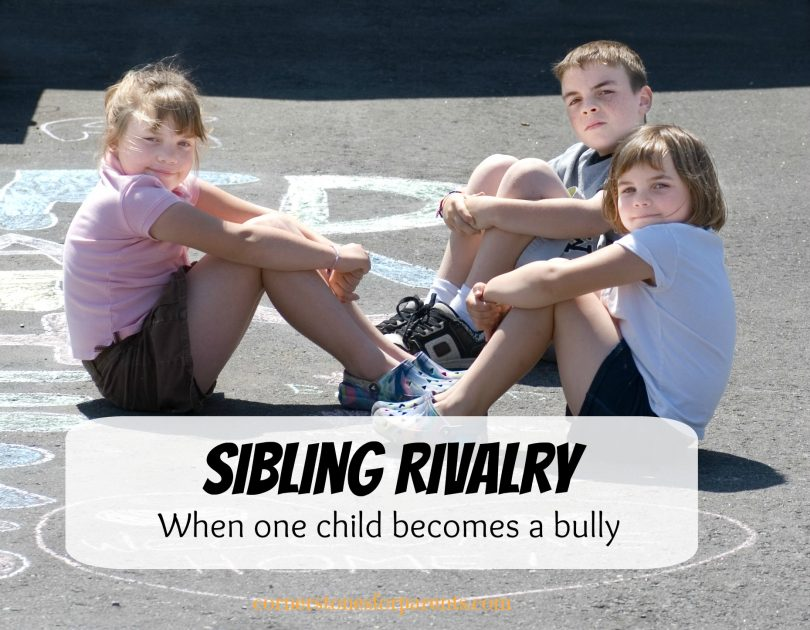 Is It Sibling Rivalry Or Bullying >> Sibling Rivalry When One Child Is A Bully To Siblings