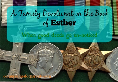 Family Devotional from the Book of Esther